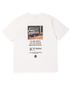 NIL DUE / NIL UN TOKYO:ニル デュエ / ニル アン トーキョー(2色展開)<br>【 TOUR RACK TEE ( WHITE ) 】