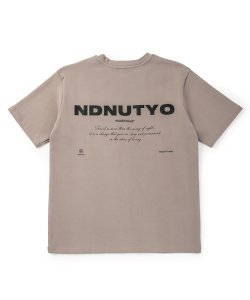 NIL DUE / NIL UN TOKYO / ニル デュエ / ニル アン トーキョー /  SWEAT BIG TEE ( GREIGE )