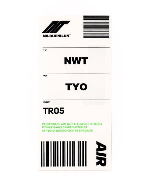 NIL DUE / NIL UN TOKYO / ニル デュエ / ニル アン トーキョー   8 STICKER PACK 商品画像8