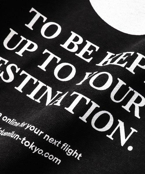 NIL DUE / NIL UN TOKYO / ニル デュエ / ニル アン トーキョー   TAG LONG SLEEVE TEE  ( BLACK ) 商品画像2