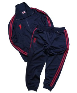 "RALEIGH / ラリー REDMOTEL / レッドモーテル (2色展開)<br>【 ""GRAND MASTER CLA5H"" GANGSTA TRACK SUITS (NY) 】"