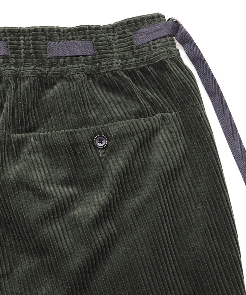 SAYATOMO / サヤトモ | KARUSAN CORDUROY PANTS (OLIVE) 商品画像5