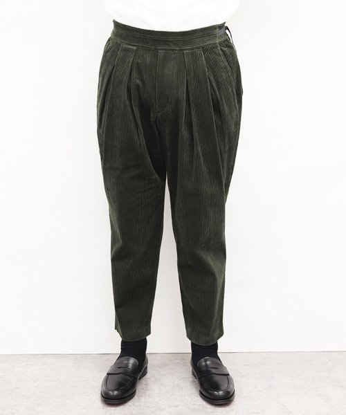 SAYATOMO / サヤトモ | KARUSAN CORDUROY PANTS (OLIVE) 商品画像7