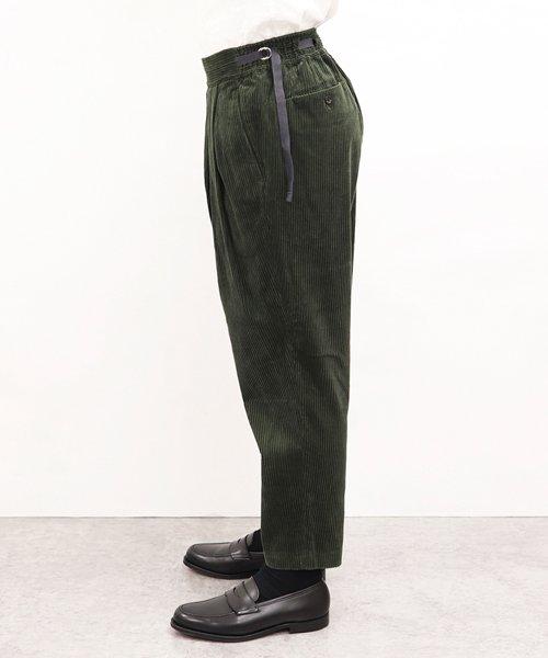 SAYATOMO / サヤトモ | KARUSAN CORDUROY PANTS (OLIVE) 商品画像8