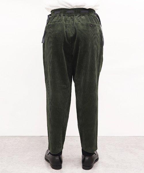 SAYATOMO / サヤトモ | KARUSAN CORDUROY PANTS (OLIVE) 商品画像9