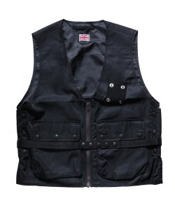 "RALEIGH / ラリー REDMOTEL / レッドモーテル<br>【 ""CODE RED! CODE RED!"" TACTICAL RADIO VEST (2WAY) 】"