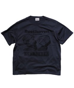 RALEIGH/ラリー REDMOTEL/レッドモーテル<br>【PEANUTS別注 SCHROEDER starring BEETHOVEN T-SHIRTS 完全版(BK/2019 Ver.)】