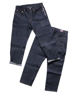 "RALEIGH/ラリー REDMOTEL/レッドモーテル<br>【 ""THE REVOLUTION STARTS HERE"" DENIM TROUSERS 】"