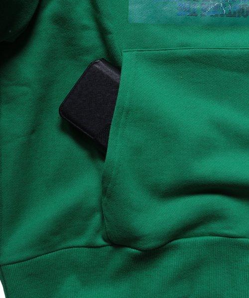 OTHER BRAND / その他ブランド  PRIMALCODE / プライマルコード GATES OF HATE SWEAT PULLOVER (GREEN) 商品画像10