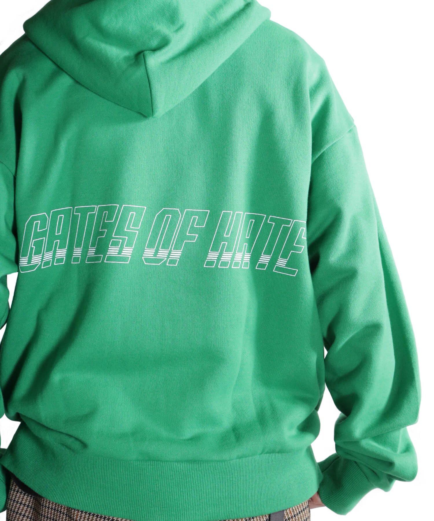 OTHER BRAND / その他ブランド  PRIMALCODE / プライマルコード GATES OF HATE SWEAT PULLOVER (GREEN) 商品画像23