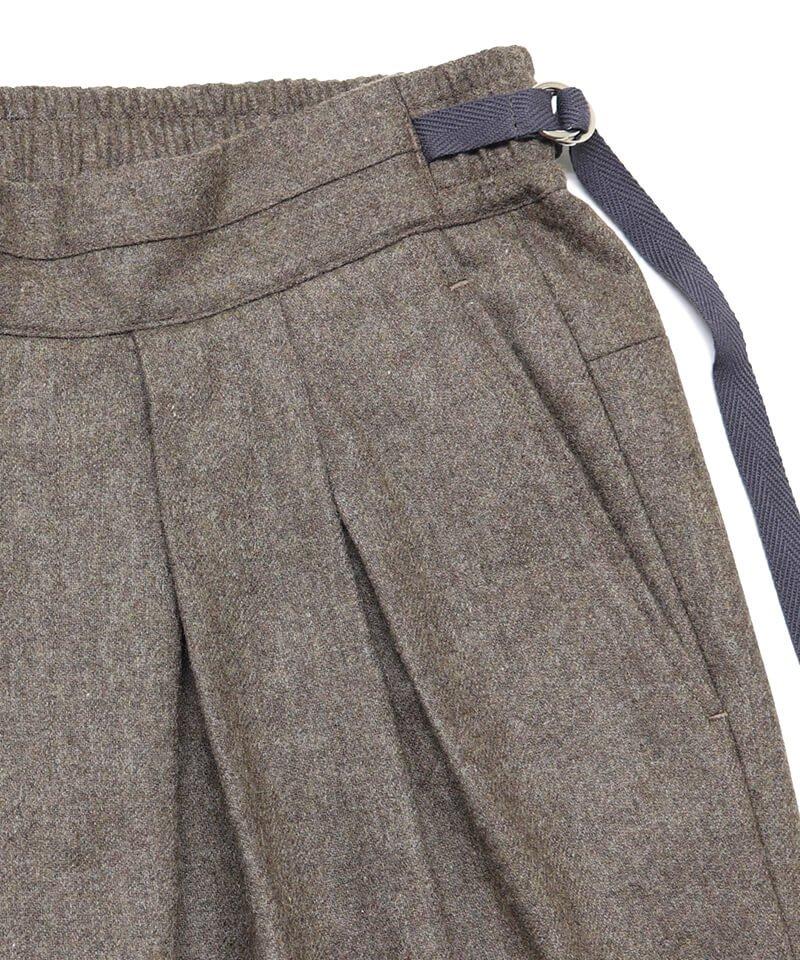 SAYATOMO / サヤトモ | KARUSAN FLANNEL PANTS (BEIGE) 商品画像5
