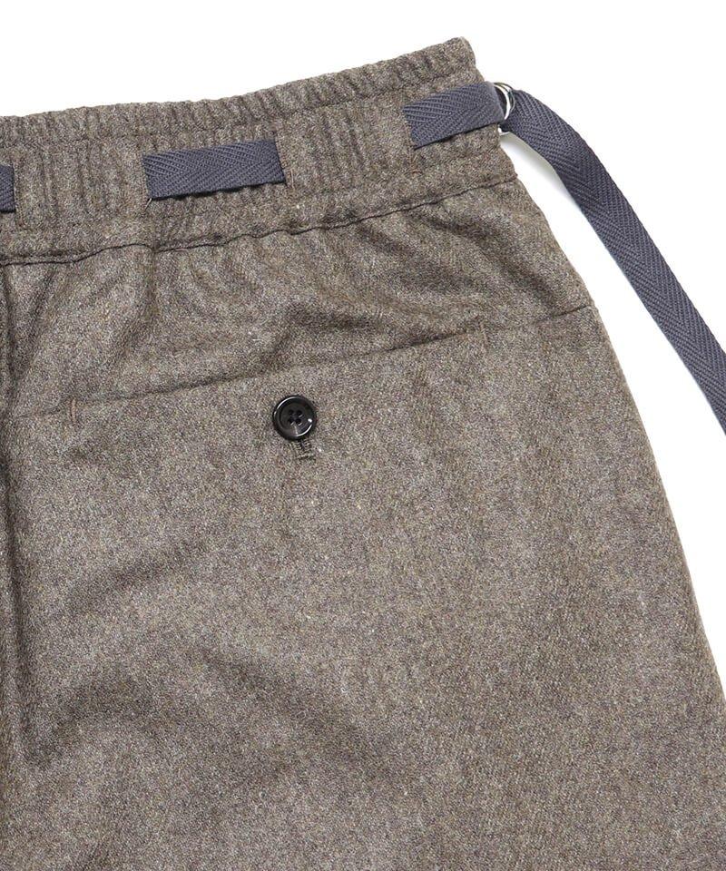 SAYATOMO / サヤトモ | KARUSAN FLANNEL PANTS (BEIGE) 商品画像6