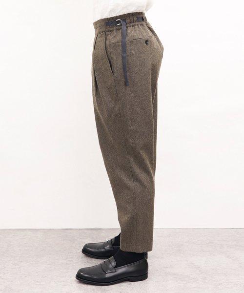 SAYATOMO / サヤトモ | KARUSAN FLANNEL PANTS (BEIGE) 商品画像8