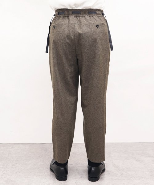 SAYATOMO / サヤトモ | KARUSAN FLANNEL PANTS (BEIGE) 商品画像9