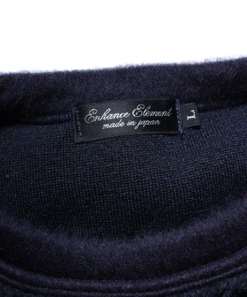 OTHER BRAND / その他ブランド |Enhance Element / エンハンスエレメント トスカーナボア配色プルオーバー (NY×PK) 商品画像7