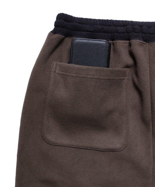 OTHER BRAND / その他ブランド  Enhance Element / エンハンスエレメント フリースボンディング裾切替ジョッパーズ (KH×BK) 商品画像10