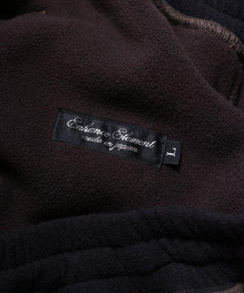 OTHER BRAND / その他ブランド  Enhance Element / エンハンスエレメント フリースボンディング裾切替ジョッパーズ (KH×BK) 商品画像11