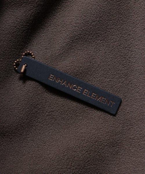 OTHER BRAND / その他ブランド  Enhance Element / エンハンスエレメント フリースボンディング裾切替ジョッパーズ (KH×BK) 商品画像12