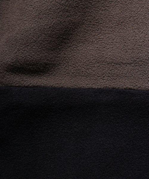 OTHER BRAND / その他ブランド  Enhance Element / エンハンスエレメント フリースボンディング裾切替ジョッパーズ (KH×BK) 商品画像13
