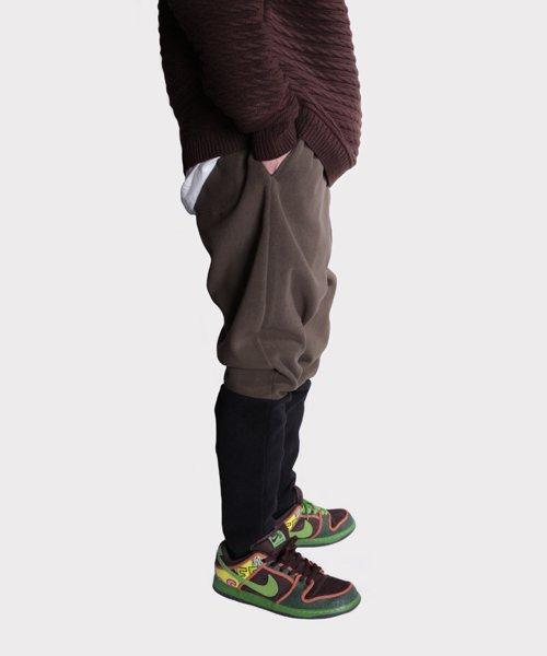 OTHER BRAND / その他ブランド  Enhance Element / エンハンスエレメント フリースボンディング裾切替ジョッパーズ (KH×BK) 商品画像18