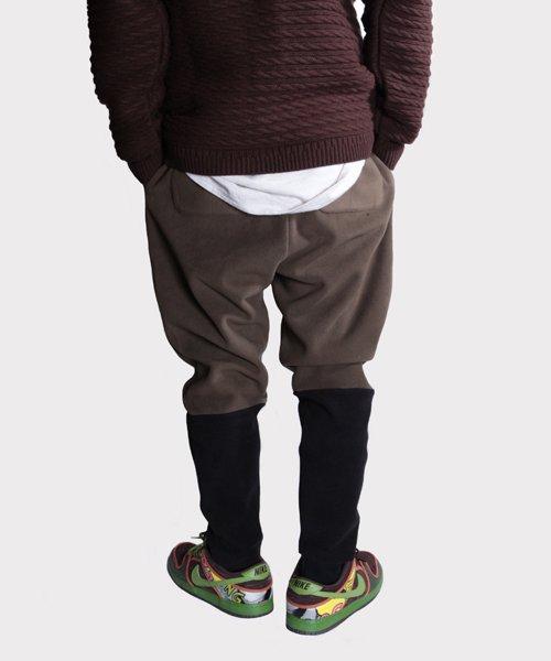 OTHER BRAND / その他ブランド  Enhance Element / エンハンスエレメント フリースボンディング裾切替ジョッパーズ (KH×BK) 商品画像19