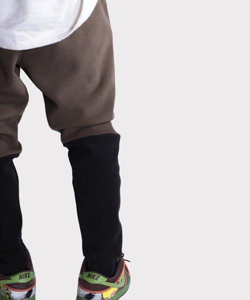 OTHER BRAND / その他ブランド  Enhance Element / エンハンスエレメント フリースボンディング裾切替ジョッパーズ (KH×BK) 商品画像22