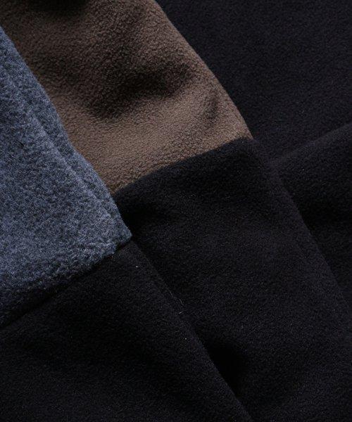 OTHER BRAND / その他ブランド  Enhance Element / エンハンスエレメント フリースボンディング裾切替ジョッパーズ (KH×BK) 商品画像23