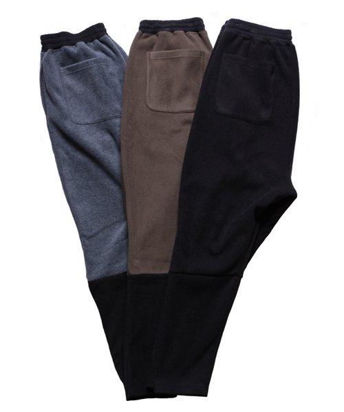OTHER BRAND / その他ブランド  Enhance Element / エンハンスエレメント フリースボンディング裾切替ジョッパーズ (KH×BK) 商品画像3