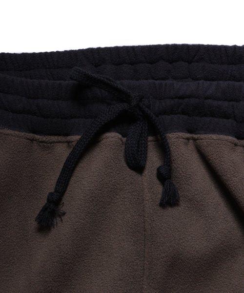OTHER BRAND / その他ブランド  Enhance Element / エンハンスエレメント フリースボンディング裾切替ジョッパーズ (KH×BK) 商品画像7
