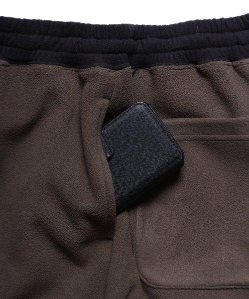 OTHER BRAND / その他ブランド  Enhance Element / エンハンスエレメント フリースボンディング裾切替ジョッパーズ (KH×BK) 商品画像8