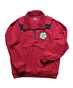 "RALEIGH / ラリー REDMOTEL / レッドモーテル (2色展開)<br>【 ""WHERE IS MY JUMPER?"" FLANNEL PULL OVER JACKET (RD) 】"
