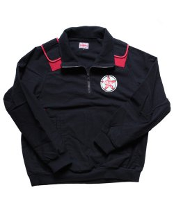 "RALEIGH / ラリー REDMOTEL / レッドモーテル (2色展開)<br>【 ""WHERE IS MY JUMPER?"" FLANNEL PULL OVER JACKET (BK) 】"