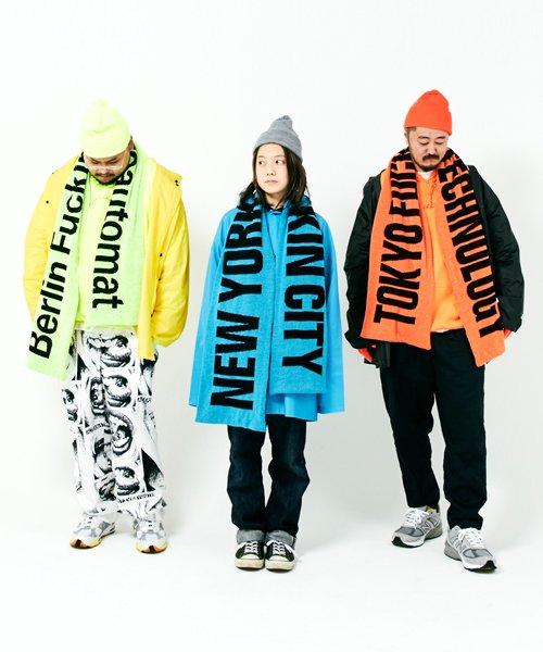 Official Artist Goods / バンドTなど |ANORAKS / アノラックス:CITY MUFFLER(TOKYO ORANGE)商品画像12