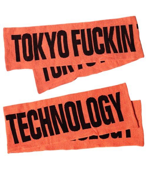 Official Artist Goods / バンドTなど |ANORAKS / アノラックス:CITY MUFFLER(TOKYO ORANGE)商品画像2