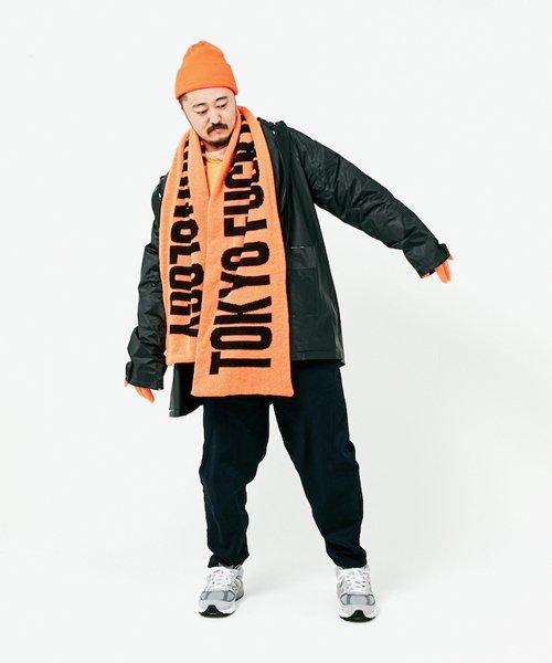 Official Artist Goods / バンドTなど |ANORAKS / アノラックス:CITY MUFFLER(TOKYO ORANGE)商品画像4