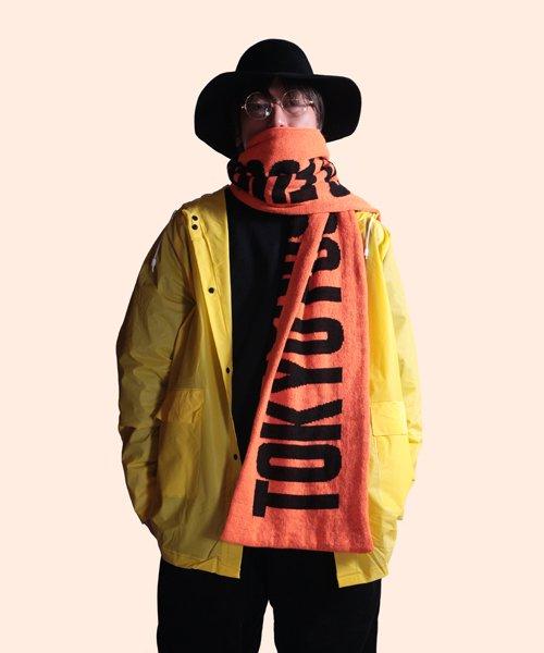 Official Artist Goods / バンドTなど |ANORAKS / アノラックス:CITY MUFFLER(TOKYO ORANGE)商品画像9