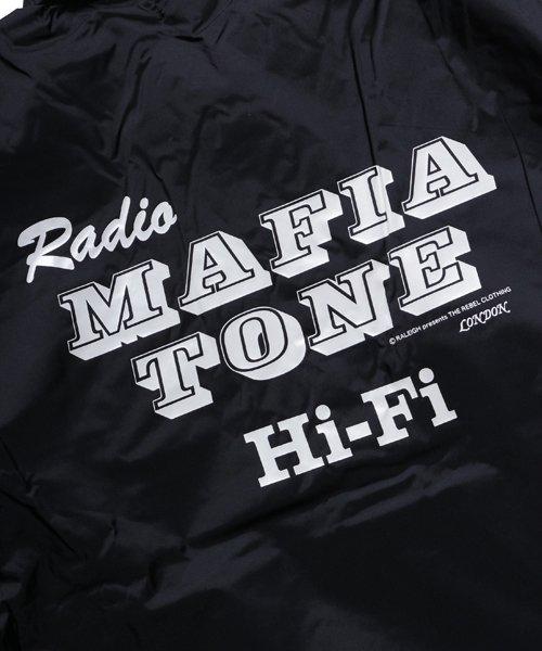 "RALEIGH / ラリー(RED MOTEL / レッドモーテル)   ""Radio MafiaTone Hi-Fi"" COACH JACKET (Light) 商品画像5"