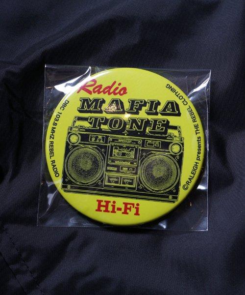 "RALEIGH / ラリー(RED MOTEL / レッドモーテル)   ""Radio MafiaTone Hi-Fi"" COACH JACKET (Light) 商品画像6"