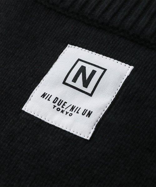 NIL DUE / NIL UN TOKYO / ニル デュエ / ニル アン トーキョー   LONG SLEEVE KNIT (BLACK) 商品画像2