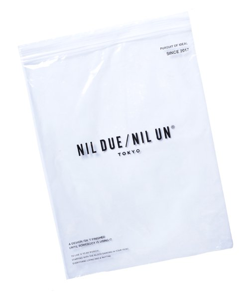 NIL DUE / NIL UN TOKYO / ニル デュエ / ニル アン トーキョー   LONG SLEEVE KNIT (BLACK) 商品画像6