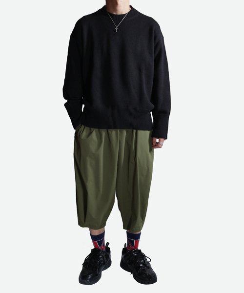 NIL DUE / NIL UN TOKYO / ニル デュエ / ニル アン トーキョー   LONG SLEEVE KNIT (BLACK) 商品画像7