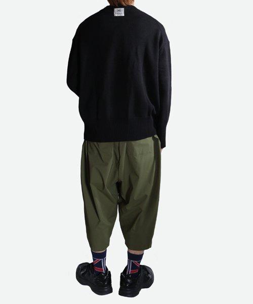 NIL DUE / NIL UN TOKYO / ニル デュエ / ニル アン トーキョー   LONG SLEEVE KNIT (BLACK) 商品画像8