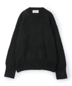 NIL DUE / NIL UN TOKYO / ニル デュエ / ニル アン トーキョー /  LONG SLEEVE KNIT (BLACK)