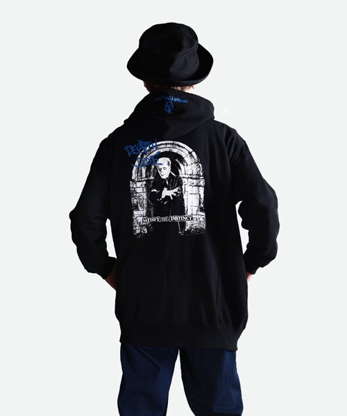 Official Artist Goods / バンドTなど  DEATH SIDE / デスサイド:SATISFY THE INSTINCT (PULLOVER) 商品画像11