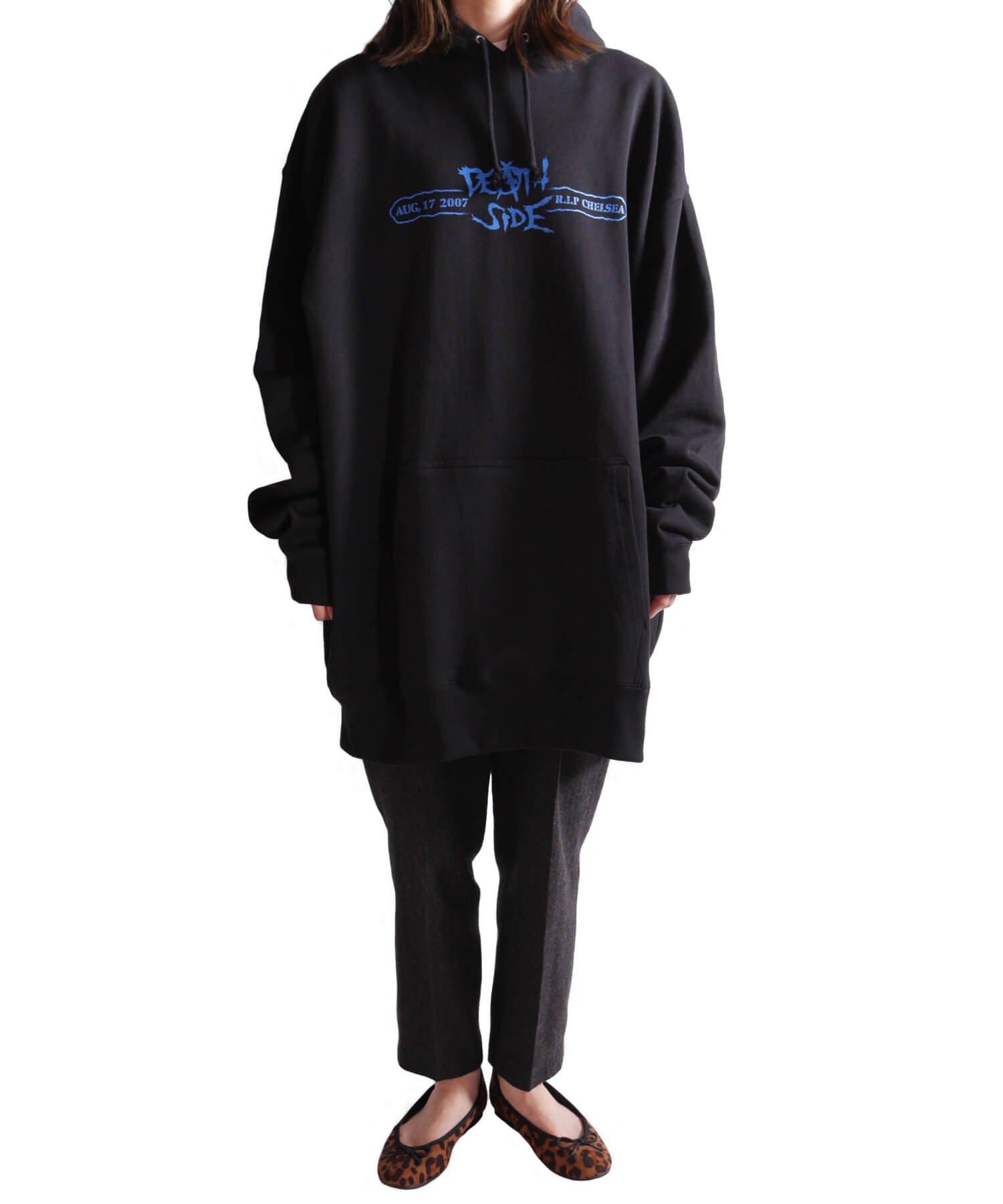 Official Artist Goods / バンドTなど  DEATH SIDE / デスサイド:SATISFY THE INSTINCT (PULLOVER) 商品画像14