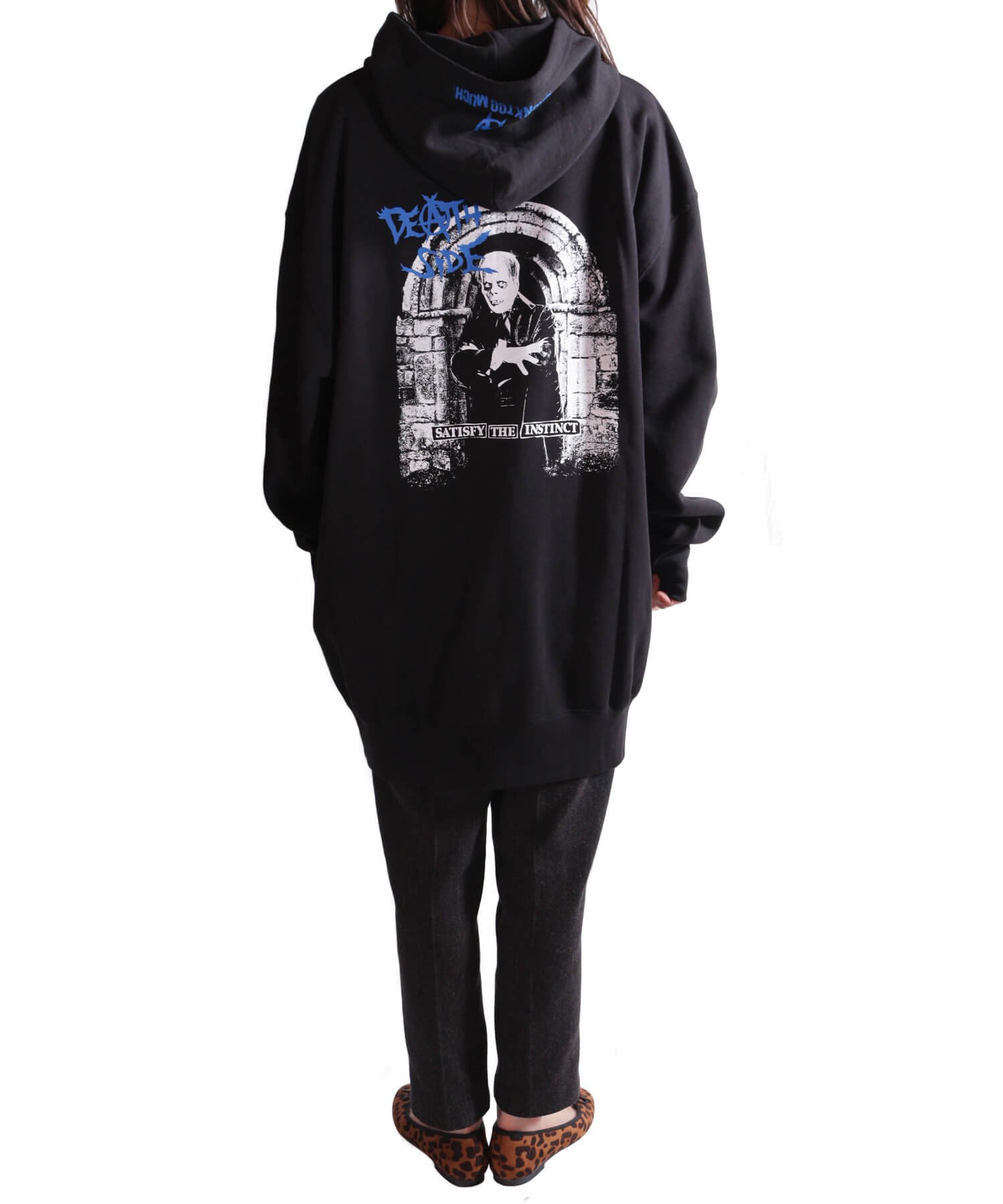 Official Artist Goods / バンドTなど  DEATH SIDE / デスサイド:SATISFY THE INSTINCT (PULLOVER) 商品画像15