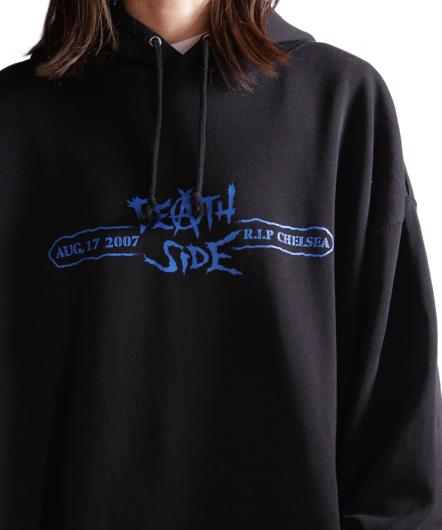 Official Artist Goods / バンドTなど  DEATH SIDE / デスサイド:SATISFY THE INSTINCT (PULLOVER) 商品画像18