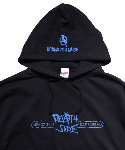 Official Artist Goods / バンドTなど  DEATH SIDE / デスサイド:SATISFY THE INSTINCT (PULLOVER) 商品画像3