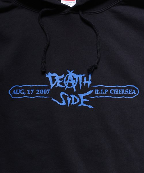 Official Artist Goods / バンドTなど  DEATH SIDE / デスサイド:SATISFY THE INSTINCT (PULLOVER) 商品画像5