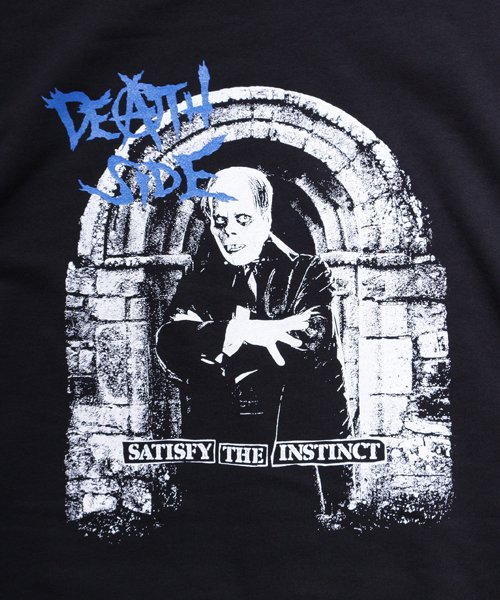 Official Artist Goods / バンドTなど  DEATH SIDE / デスサイド:SATISFY THE INSTINCT (PULLOVER) 商品画像6